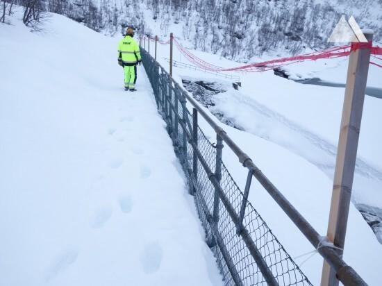 Tunsbergdalsdammen Access Control 2017 - Geobrugg