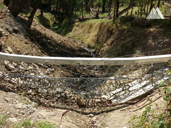 Protecţia împotriva torenţilor şi a alunecărilor superficiale - Quebrada Los Curos 2015