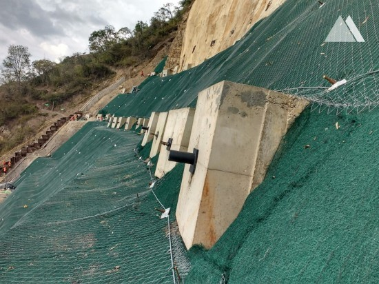 Consolidamento di versanti - Cucuta Pamplona Hill 2015