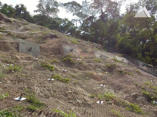 Stabilisation des pentes - Cucuta Pamplona Hill 2015