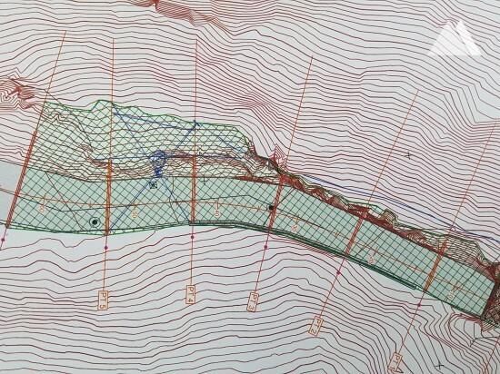 Steinschlagschutz - Strecke Chalais-Vercorin, Wallis 2018