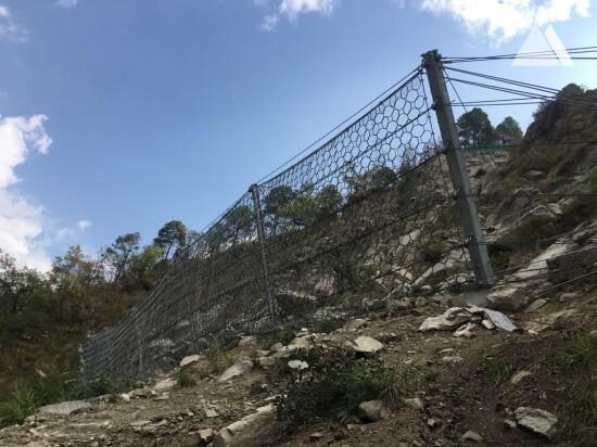 Камнепады, обвалы, осыпи - Trishuli 3A Hydropower 2018