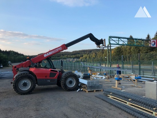 Circuit de Spa-Francorchamps 2018 - Geobrugg