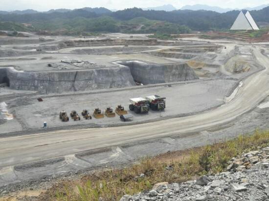 Estabilização de taludes - Minera Panama 2016
