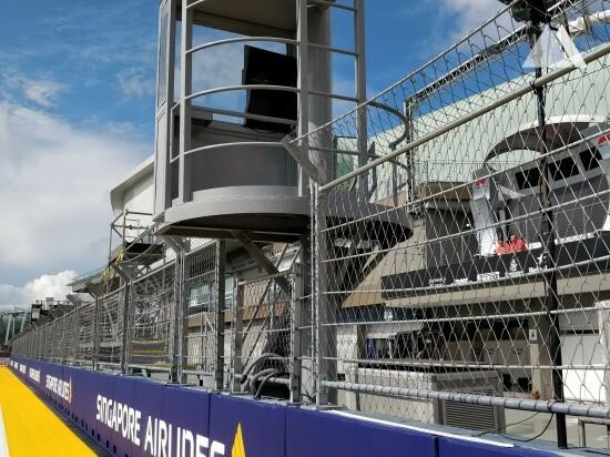 Singapore GP 2018 - Geobrugg