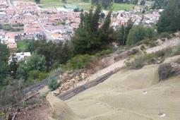 Cucunuba walking path 2017 - Geobrugg