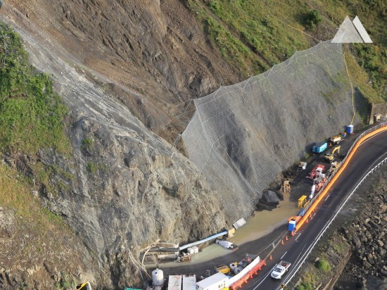 Kaya düşmesine karşı koruma - Kaikoura State Highway 1 (SR14) 2017