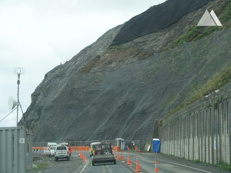 Kaikoura State Highway 1 (SR14) 2017 - Geobrugg