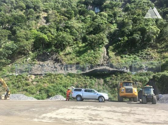 泥石流和滑坡防护 - Kaikoura State Highway 1 (SR11 26) 2017