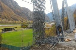 Hône, Val d'Aosta 2017 - Geobrugg