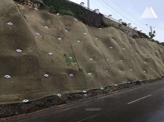 Consolidamento di versanti - La Marina Road Cartagena 2018