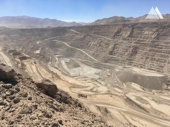 Radomiro Tomic Open Pit Mine 2018 - Geobrugg