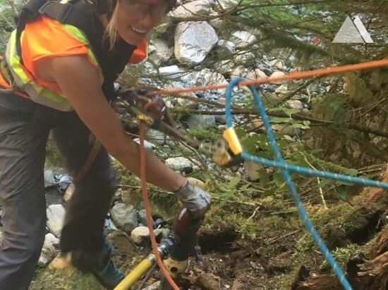 Protecţia împotriva torenţilor şi a alunecărilor superficiale - Britannia Creek 2018