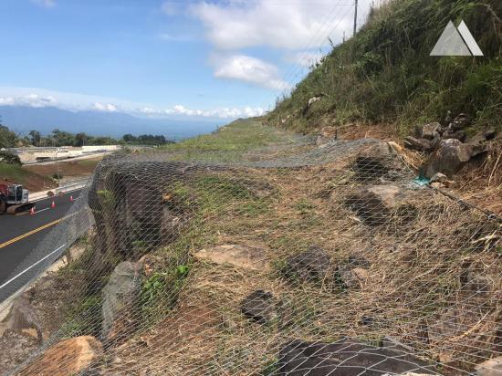 Stabilisation des pentes - Radial Ciudad Quesada 2018