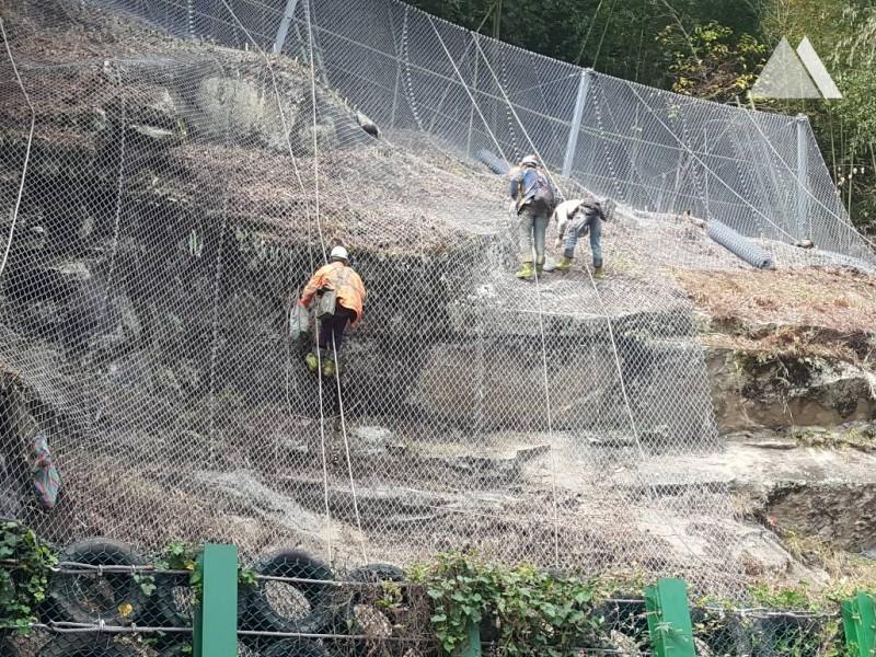 Alishan, Chiayi County 2018 - Geobrugg
