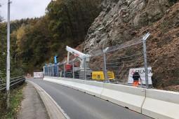 Road fencing - Bärenstein Werdohl - B229 2018