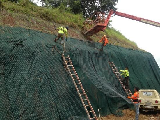 Estabilização de taludes - Plaza La Marquesa 2018