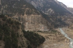 Укрепление склонов - Tidong-I Hydro Electric Project, Himachal Pradesh 2019