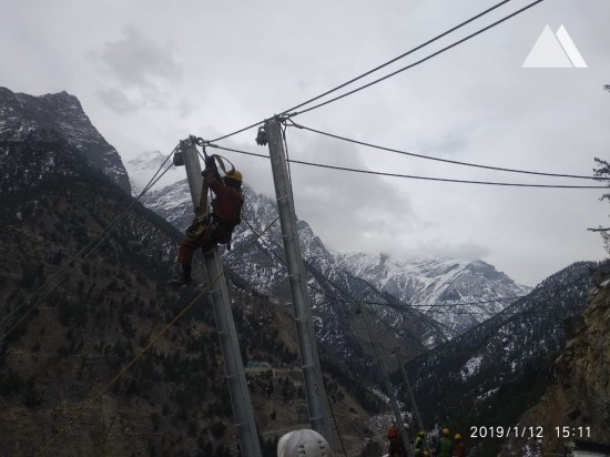 Камнепады, обвалы, осыпи - Tidong-I Hydro Electric Project, Himachal Pradesh 2019