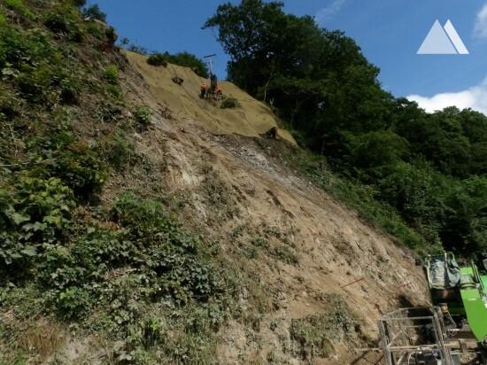 Cwmavon Landslide 2018 - Geobrugg