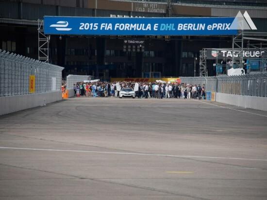 ePrix Berlin 2015 2015 - Geobrugg