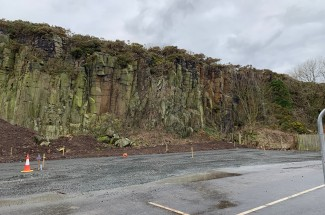 Craster Quarry Car Park 2019 - Geobrugg