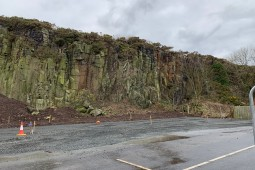 Exploitation minière / Tunnel - Craster Quarry Car Park 2019