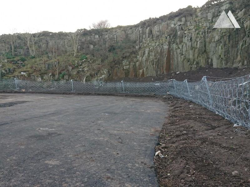 Craster Quarry Car Park 2019 - Geobrugg