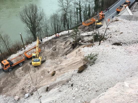 Укрепление склонов - Zagorje-Trbovlje 2019