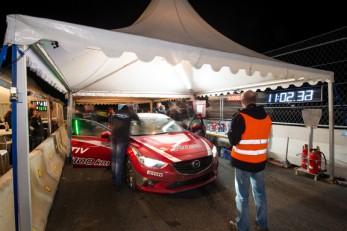 Mazda 6 Rekordjagd 2014 - Geobrugg