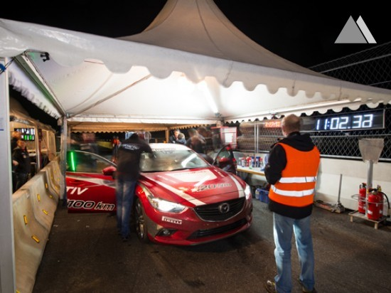 Test tracks and proving grounds - Mazda 6 Rekordjagd 2014