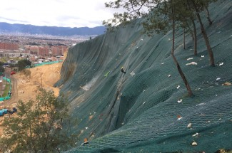 Peñon del Cortijo 2015 - Geobrugg