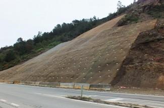 Ruta T-350 Valdivia - Niebla 2015 - Geobrugg