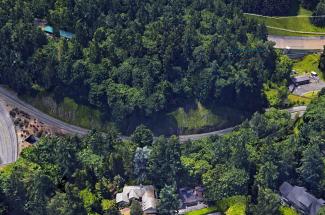 U.S. Route 26 at Jefferson Street, Portland, OR 2014 - Geobrugg