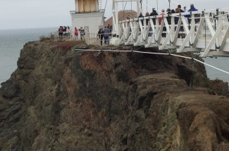 Point Bonita Lighthouse Pedestrian Bridge 2012 - Geobrugg