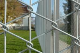 Forensic station boundary fence 2012 - Geobrugg