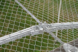 Protection contre les impacts - Tonwerke Keller AG aerial cableway safety net 2009