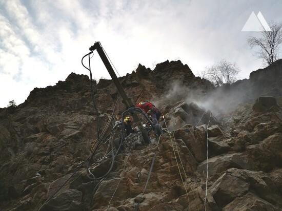 Protection contre les glissements de terrain et les laves torrentielles - Borusan EnBW 2019
