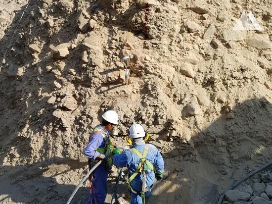 Protección contra flujos de detritos y deslizamientos superficiales - Shis - Khor Fakkan road 2019