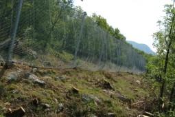 Protecţia împotriva căderilor de pietre - Lierna SS 36 2019