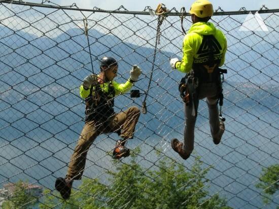 Protezione da caduta massi - Lierna SS 36 2019