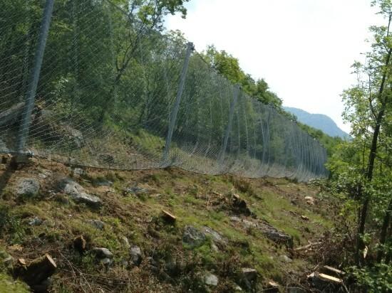 Kaya düşmesine karşı koruma - Lierna SS 36 2019