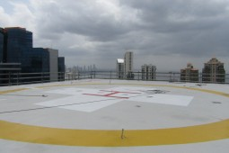 Pacific Center Heliport 2019 - Geobrugg