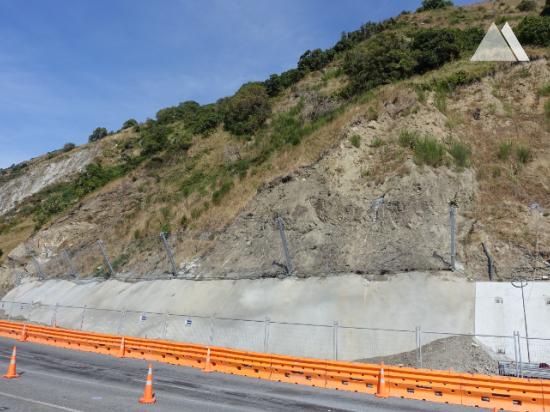 Kaya düşmesine karşı koruma - Kaikoura State Highway 1 (SR1-2) 2019