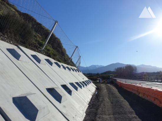落石防护 - Kaikoura State Highway 1 (SR1-2) 2019