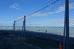 Proteção contra desprendimentos - Kaikoura Tunnel 16 2019