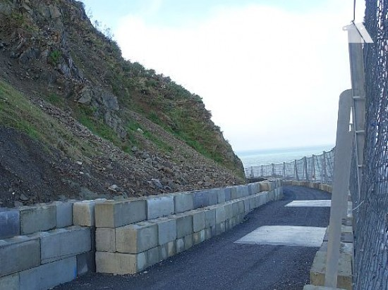 Ochrona przed obrywami skalnymi - Kaikoura Tunnel 16 2019