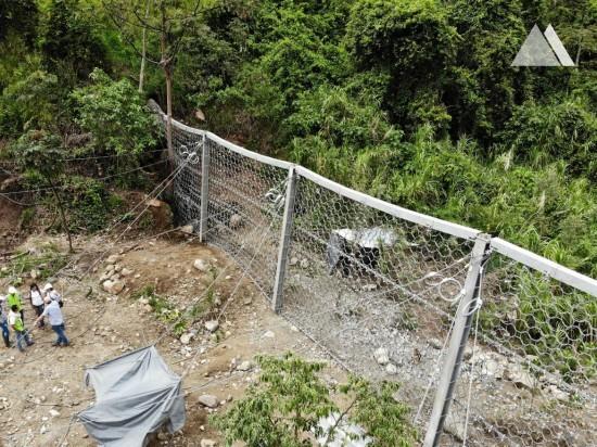 Hangmuren- und Murgangschutz - Las Ceibas River 2018