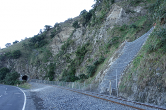 Kaikoura Coastal Pacific Rail (SK16) 2019 - Geobrugg