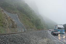 Ochrona przed spływami gruzowymi (rumowisko) i płytkimi  osuwiskami - Kaikoura Coastal Pacific Rail (SK16) 2019